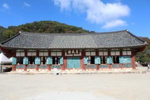 '고창 선운사 만세루' 보물 지정